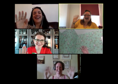 Medway Therapists Network Meeting on Zoom 1 June 2020